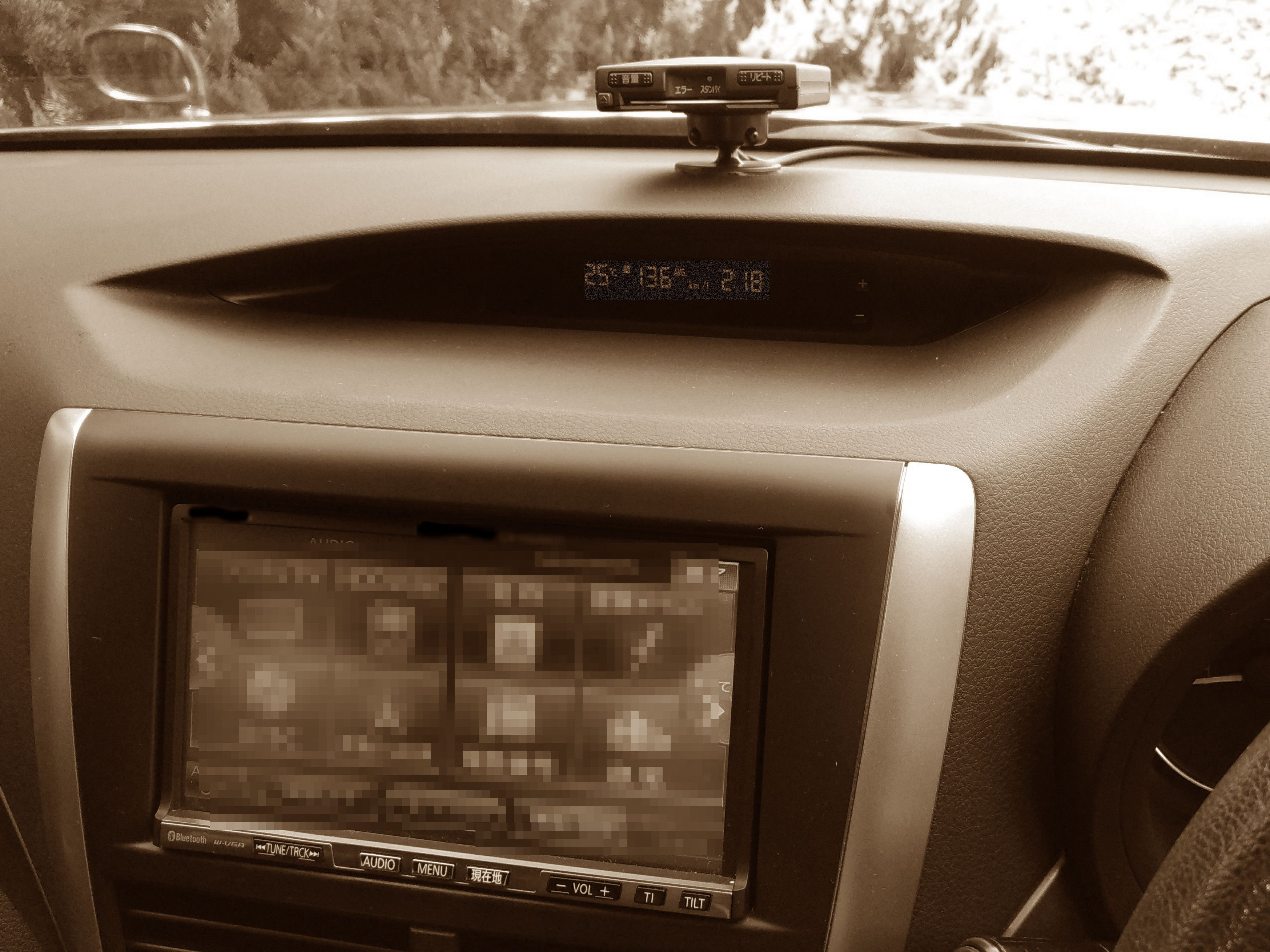 既存の車にもさまざまな情報機器や外部接続がある(イメージ)