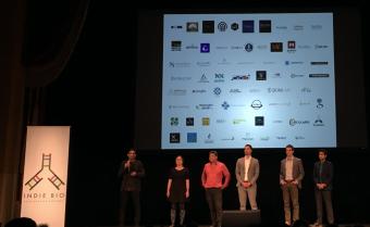 IndieBio卒業企業と運営メンバー。最左がManaging Director and Founder であるArvind Gupta