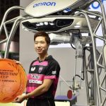 IT見本市「CEATEC JAPAN 2017」 水谷選手と卓球するロボットも