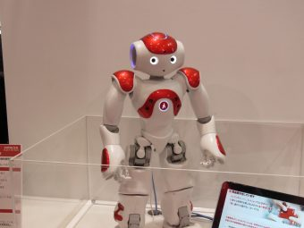 AI応対ロボット「NAO」幕張メッセCEATEC2017にて 2017年10月6日撮影