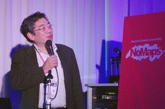セッションのコーディネーターを務める公立はこだて未来大学副学長の松原仁氏