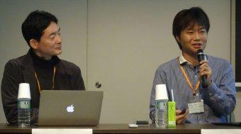 首藤一幸・東京工業大学准教授(右)と斉藤賢爾・慶応大学SFC研究所上席所員