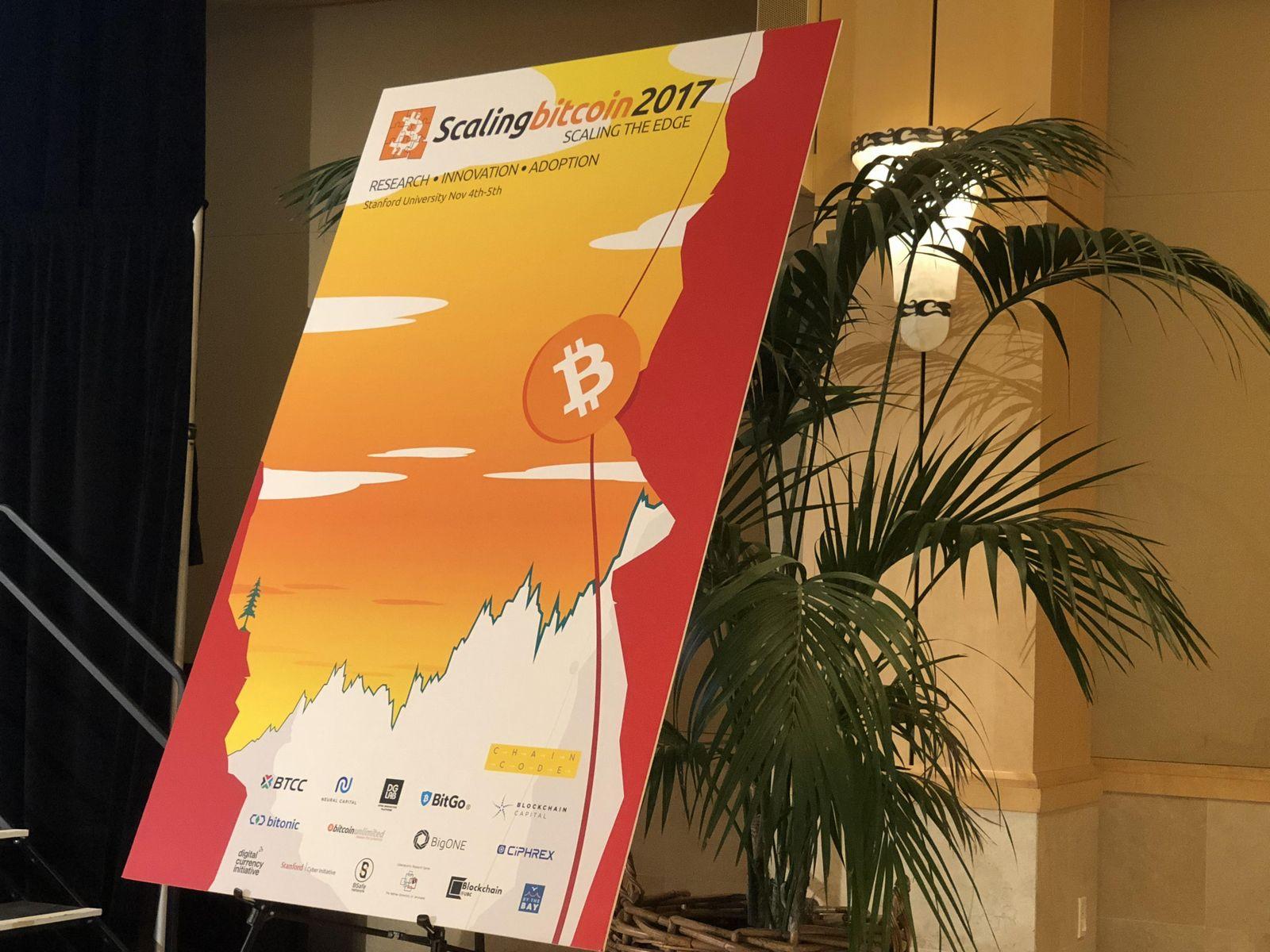 Scaling Bitcoin 2017の会場にて
