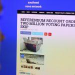 英政府、偽ニュース対策部隊を創設 ロシア工作阻止を念頭か