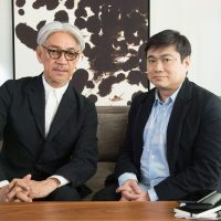 Ryuichi Sakamoto and Joichi Ito  A dialogue on artificial intelligence and humanity