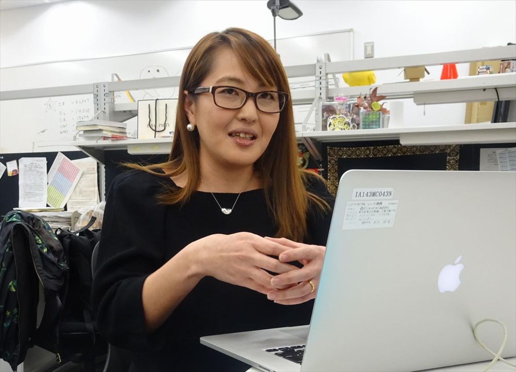首都大学東京大学院でデジタルコンテンツ制作などを学ぶ与那覇里子さん