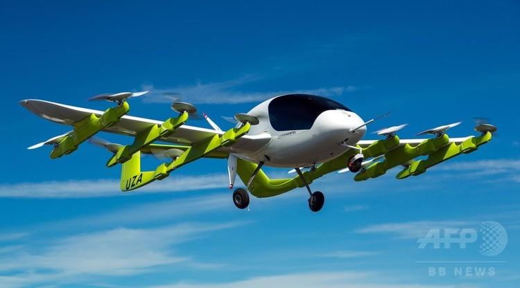 ゼファー・エアワークスが公開した空飛ぶ自動運転タクシー「コラ」の画像(2018年3月13日提供開)。(c)AFP PHOTO / Zephyr Airworks
