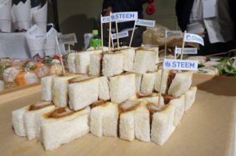 ミートアップでのサンドイッチ