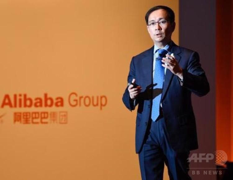 アリババ・グループ張勇CEO(撮影日不明、資料写真)。(c)CNS