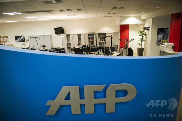 仏パリのAFP本社(2013年1月5日撮影、資料写真)。(c)AFP PHOTO / FRED DUFOUR