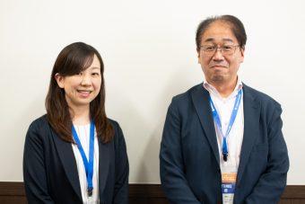 ニチレイ 内田絵理子氏(左)小泉雄史氏(右)