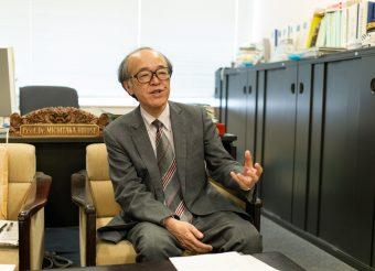 廣瀬教授は、スタートアップ企業にもワークショップの場などさまざまな形でセンターを活用してほしいと語る