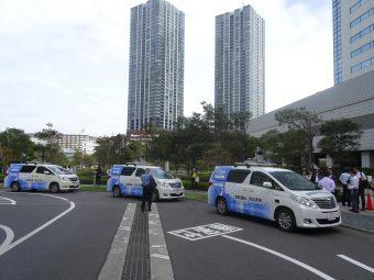 NTTデータなどによる自動運転車両