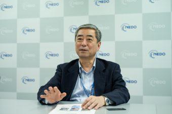 ドローンの社会実装に向けたプロジェクトを統括する宮本和彦氏