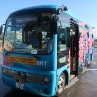 廃線跡を走るBRTで自動走行バスならでの課題を検証〜ひたちBRTで実証実験〜