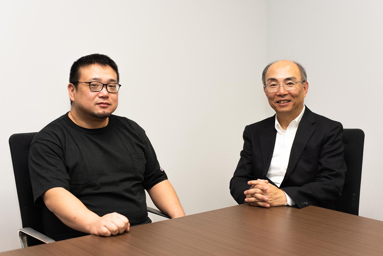 田中信彦氏(右)と高口康太氏(左)