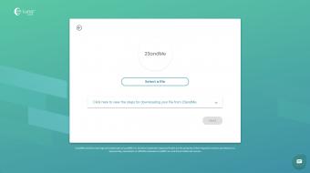 23andMeからダウンロードしたデータをLunaDNAにアップロード(10秒くらいで完了)