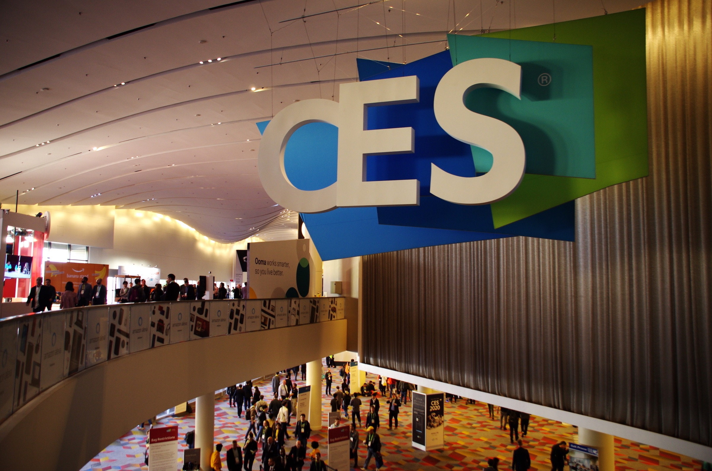 CES2019会場 Sands Expo & Convention Centerにて