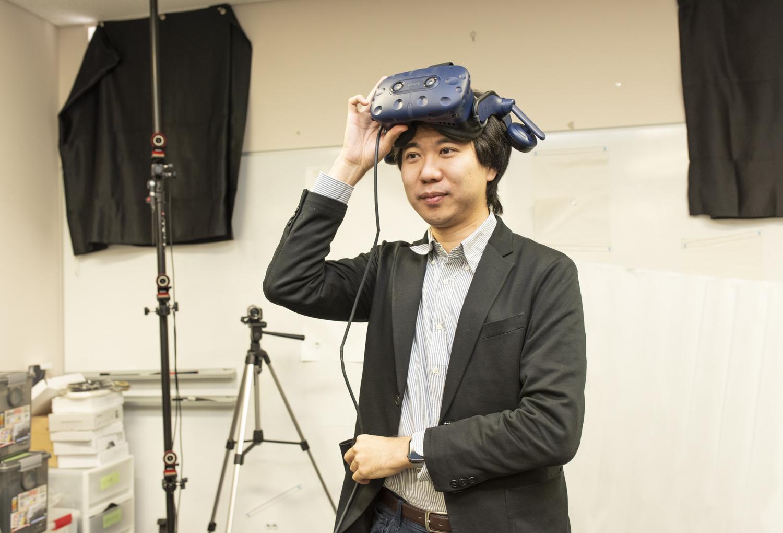 東京大学「Cyber Interface Lab」(廣瀬・谷川・鳴海研究室)で「五感インタフェース」の研究に取り組む鳴海拓志博士(東京大学 情報理工学系研究科 知能機械情報学専攻 講師)