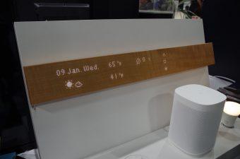 mui Lab, Inc.の「mui」。バーに触れると操作部分などが現れる