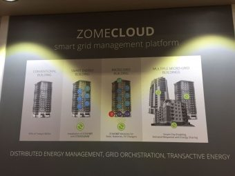 Zome Energy Networksの展示