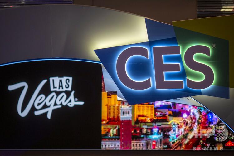 米ネバダ州ラスベガスで開催中の世界最大級の家電見本市「国際コンシューマー・エレクトロニクス・ショー(CES)」(2019年1月8日撮影)。(c)DAVID MCNEW / AFP