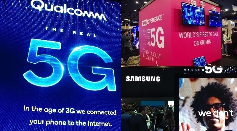5Gをアピールする各社 CES2019にて