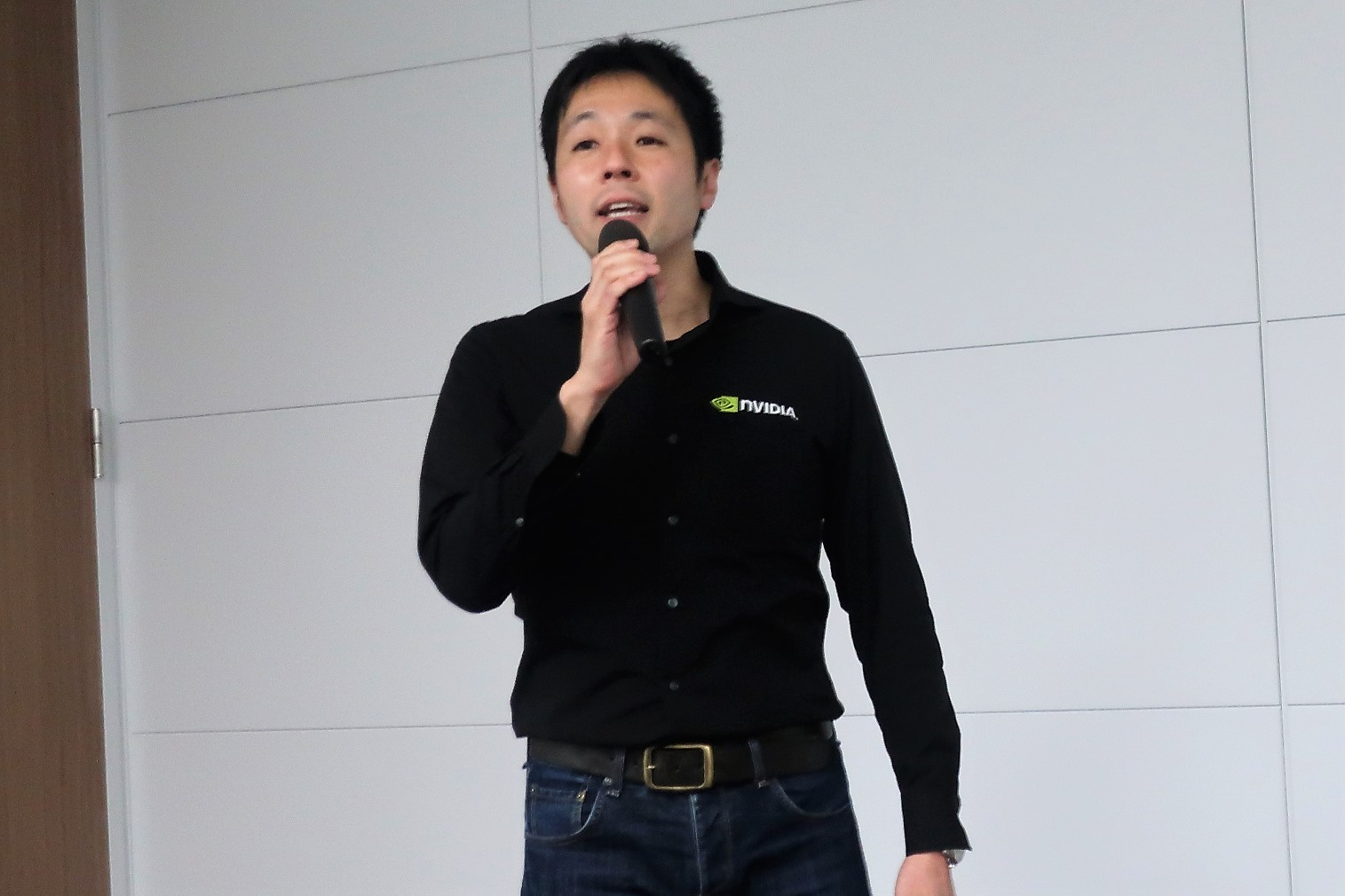 エヌビディア合同会社 インダストリー事業部 シニアマネージャー 鈴木紀行氏