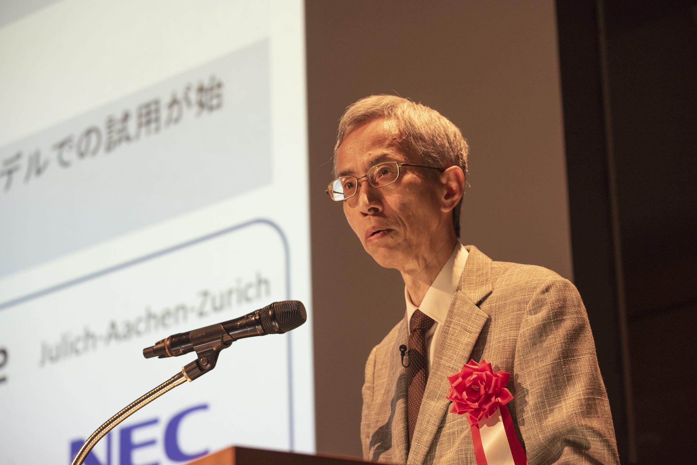量子アニーリングの提案者である西森秀稔氏(東京工業大学 科学技術創生研究員 教授/東北大学 大学院情報科学研究科 教授)