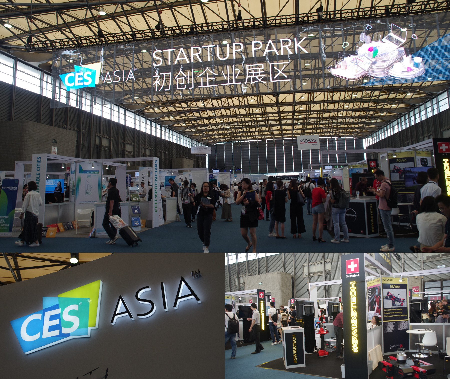 CES Asia 2019のStart Up Park