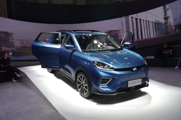 WM-Motor(威馬汽車)のEV車EX5 Pro