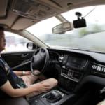 5G「AI無人運転車」、南京テックウィークに登場