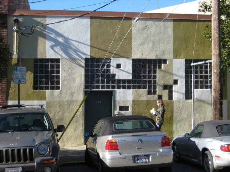 2008年当時のTwitter社のオフィスの外観