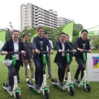 ラストワンマイルの主役 日本での普及の課題は〜電動キックボード「Lime」試乗会