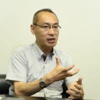 NECバイオメトリクス研究所で、声認証技術の研究開発に携わる越仲孝文氏(工学博士)