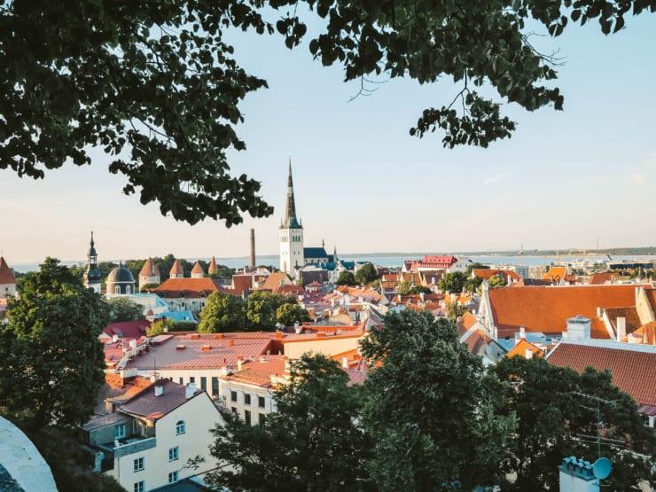 エストニア共和国首都 タリンの風景