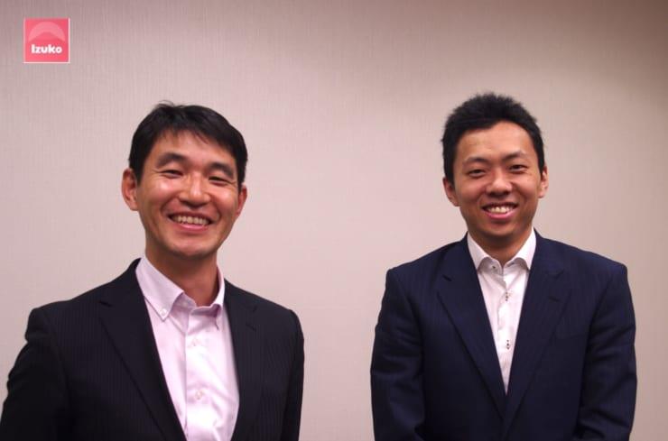 東急の岡野氏(左)と長束氏(右)