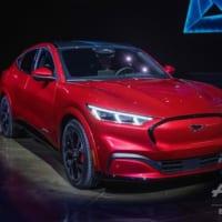 フォード、電動新型SUV「マスタング・マッハE」を発表