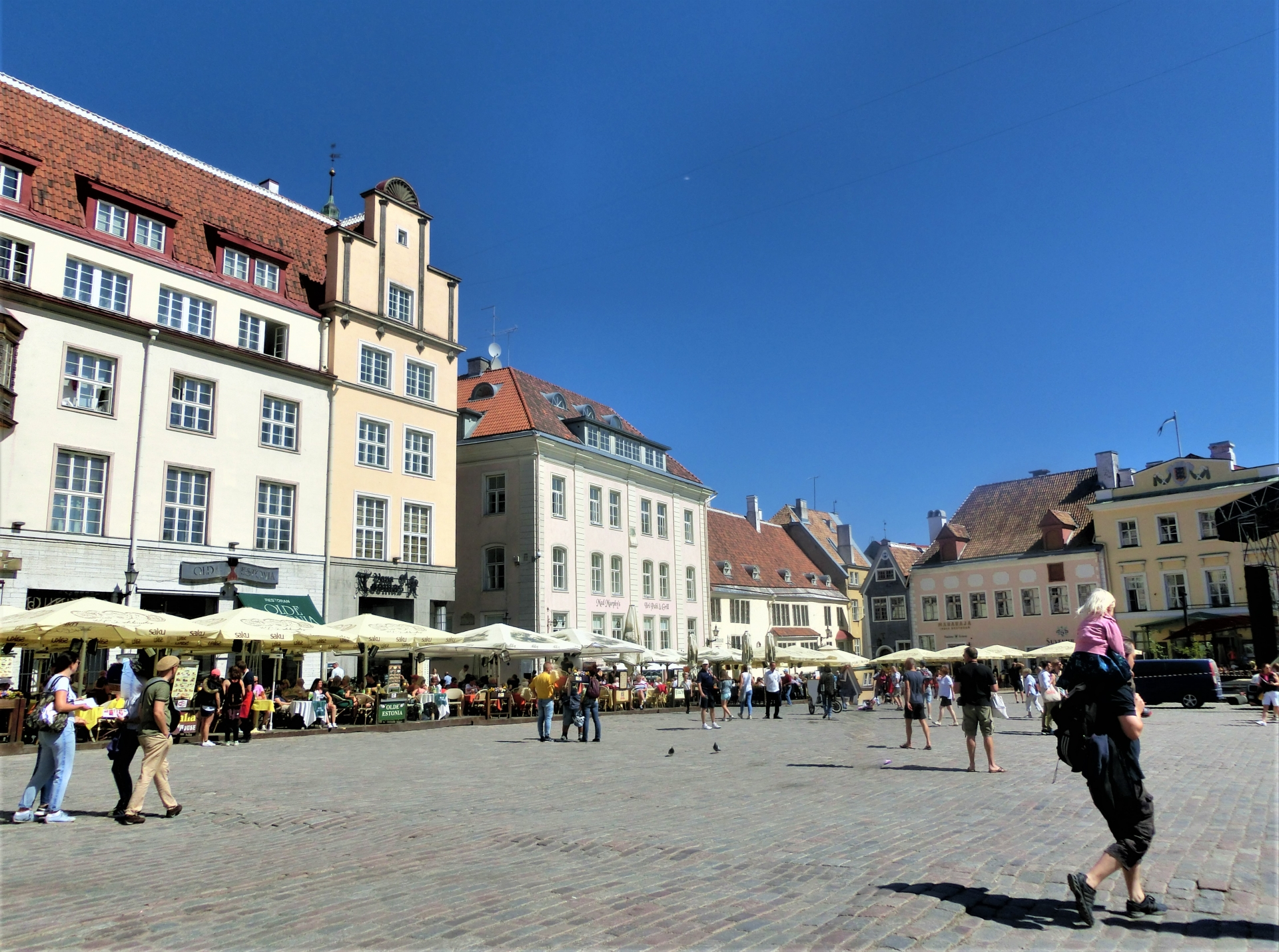 エストニア タリン市内の様子