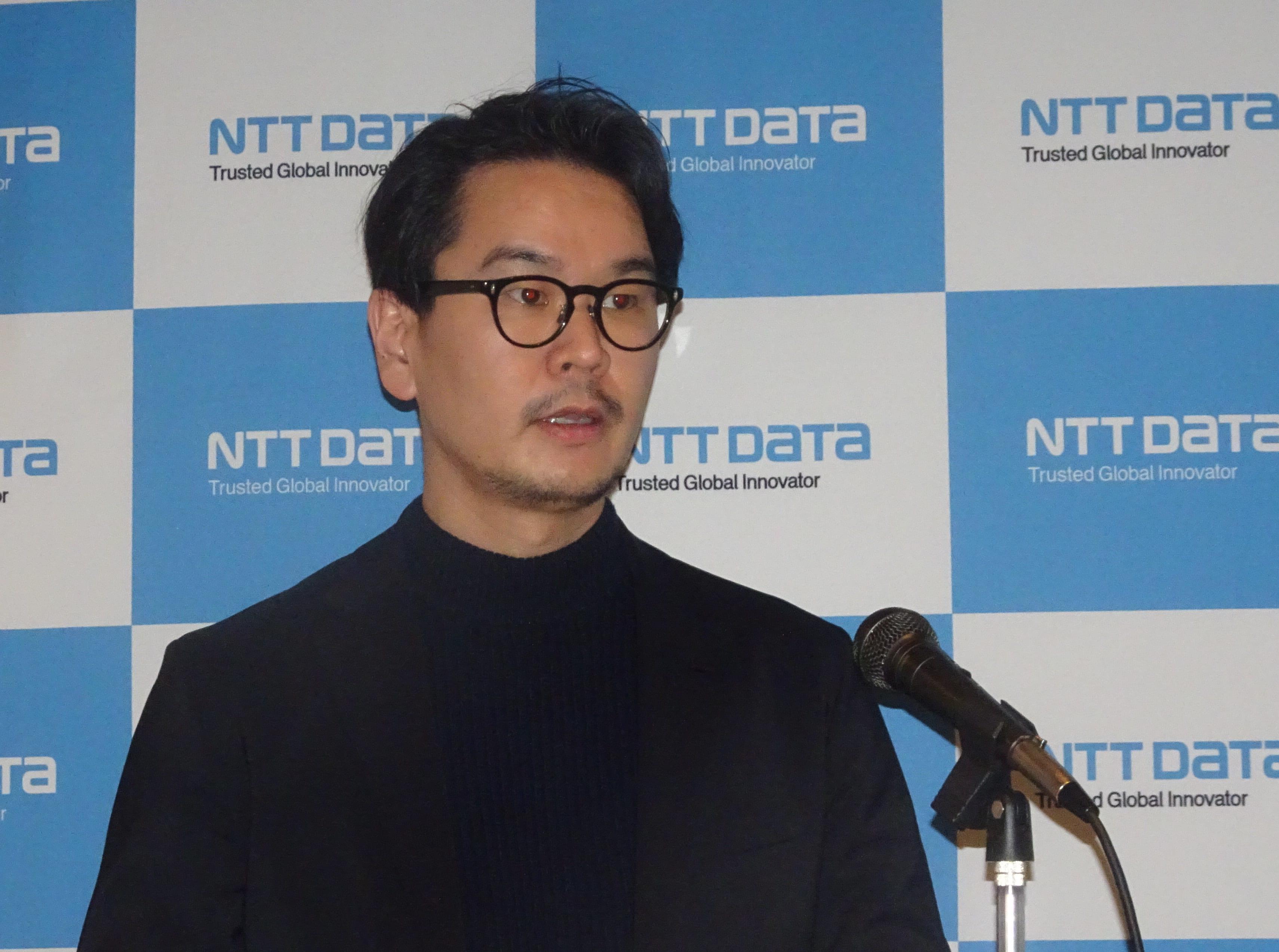 NTTデータの新井悠氏(Executive Security Analyst)