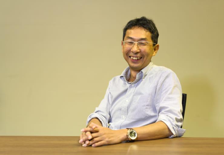 2002年顔認証の研究開発に加わった頃を振り返る今岡氏
