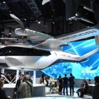 現代自動車、空飛ぶ車の大量生産へ ウーバーエアと提携