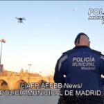 スペイン・マドリードの警察、ドローン使って市民に自宅待機を呼びかけ