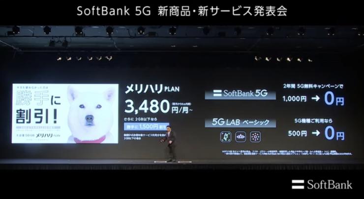 SoftBank 5G 新商品・新サービス発表会(2020年3月5日)