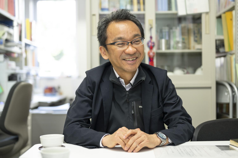 カリウムイオン電池について語る東京理科大学の駒場慎一教授 博士(工学)