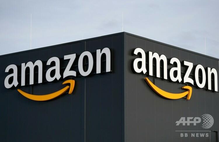 ドイツ・メンヘングラッドバッハにある米小売り・IT大手アマゾン・ドットコムの配送センター(2019年12月17日撮影、資料写真)。(c)INA FASSBENDER / AFP