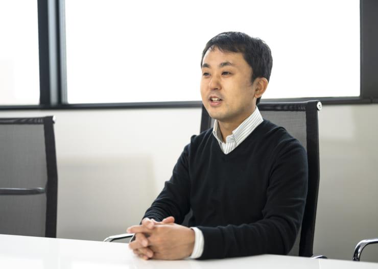 NABLASのAI人材育成コンテンツ「iLect」について説明する中山氏