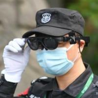 体温測定AR眼鏡を導入、感染症対策で 中国・杭州市の景勝地
