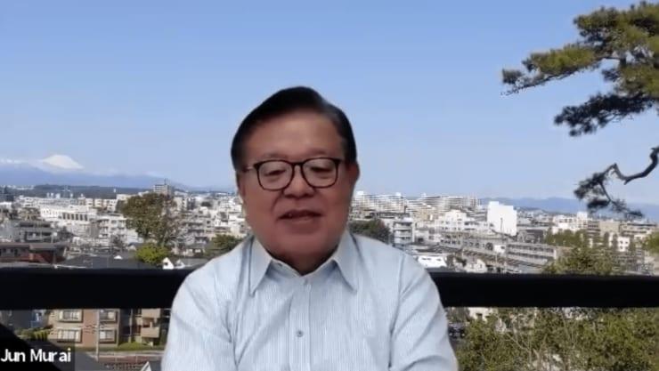 慶應義塾大学・村井純教授