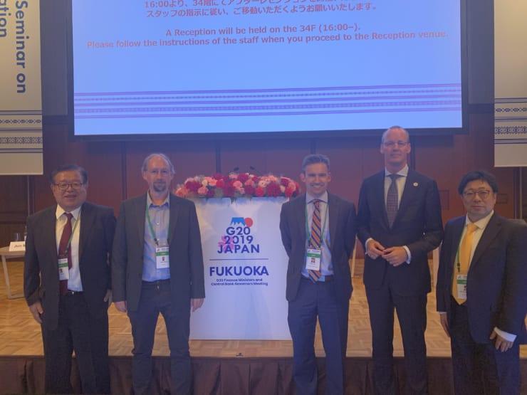 G20財務大臣・中央銀行総裁会議で行われたパネル登壇者